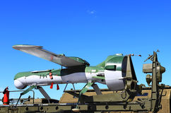 Pilotless aircraft Royalty Free Stock Photo