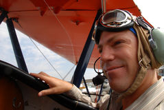Piloto imagenes de archivo