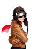 Piloto Foto de archivo