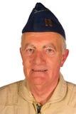 Piloto americano del veterano imagenes de archivo