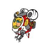 Piloto - astronauta Fotografía de archivo