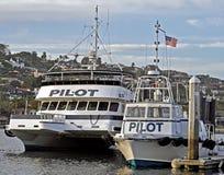 Piloto Boats Imagen de archivo