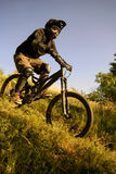 Piloto da bicicleta Fotografia de Stock
