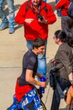 Piloto de Aleix Espargaro de MotoGP Fotos de Stock