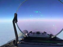 Piloto de caça HUD Fotos de Stock