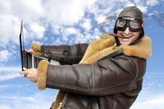 Piloto de caza Fotografía de archivo