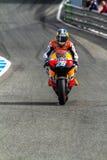 Piloto de Dani Pedrosa de MotoGP Foto de Stock Royalty Free