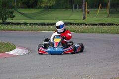 Piloto de Kart imagens de stock royalty free