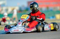 Piloto de Kart Fotos de archivo