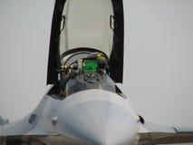Piloto del avión de combate Imagen de archivo libre de regalías