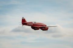 Piloto do cometa de Havilland DH88 Imagem de Stock