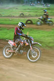 Piloto do motocross Fotografia de Stock