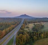 Piloto Mountain Imagem de Stock