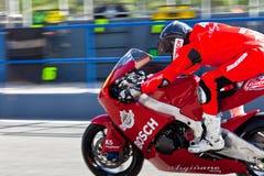 Piloto romano de Ramos de Moto2 del CEV Imagen de archivo