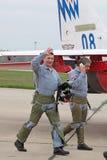 Pilotos Imagens de Stock Royalty Free