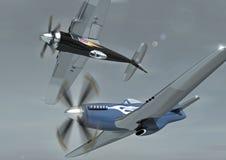 Pilotos do ar Imagem de Stock Royalty Free