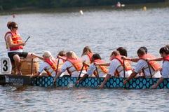 Pilotos do barco do dragão Imagem de Stock Royalty Free