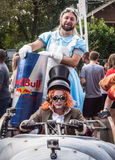Pilotos do conto de fadas de Red Bull Foto de Stock