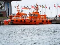 Pilotowa łódź Zdjęcia Royalty Free