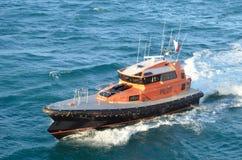 Pilotowa łódź, port Geraldton, zachodnia australia Zdjęcia Stock