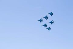 Pilotowa grupa piloci Zdjęcia Royalty Free