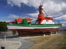 Pilotowego statku Kolumbia Rzeczny Morski muzeum, Astoria Oregon Zdjęcie Stock