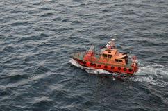 Pilotowej łodzi Kopenhaga schronienie, Tom Wurl Fotografia Stock
