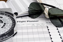 pilotowi okulary przeciwsłoneczne Zdjęcie Royalty Free