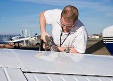 pilotowy uzupełnienie Fotografia Royalty Free
