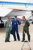 Pilots International Aerospace Salon MAKS-2013 Royalty Free Stock Images
