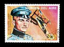 Free Pilots On Stamps Royalty Free Stock Photos - 142203748
