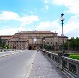Pilotta pałac, Parma, Włochy fotografia royalty free