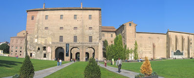 Pilotta palace Stock Photos