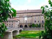 Pilotta Palace, Parma, Italy Stock Photo