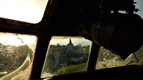 Pilotuje widok Steeple zdjęcia royalty free