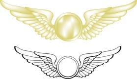 pilotvingar Arkivbild