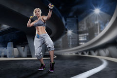 Piloxing exercice Royalty Free Stock Images