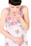 pils принимая женщину Стоковые Фото