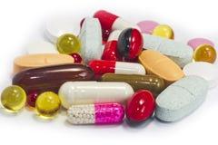 Pils capsule  medicine macro healthcare Stock Images