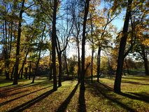 Pils park. In Cesis Stock Image
