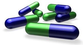 Pils of tabletten Royalty-vrije Stock Fotografie