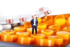 Pilse und Arzneimittelindustrien Stockfotografie