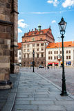 Известно, ратуша ренессанса в Pilsen. Чешская Республика. стоковые изображения rf