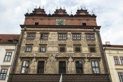 Pilsen i Tjeckien royaltyfri fotografi
