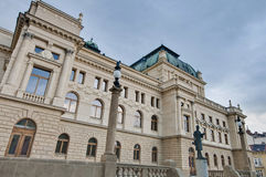 Pilsen Opera house Royalty Free Stock Photo