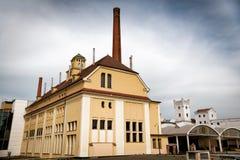 PILSEN PLZEN, TJECKIEN - MAJ 22, 2017: Traditionell ferme Arkivfoto