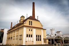 PILSEN PLZEN, TSJECHISCHE REPUBLIEK - 22 MEI, 2017: Traditionele ferme Stock Foto