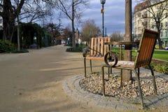 Pilsen town - Havel place stock photos