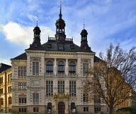 Pilsenstad - Museum van West-Bohemen Royalty-vrije Stock Foto