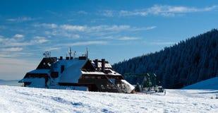Pilsko, Poland. Winter on the Pilsko ( Poland ) mountain Royalty Free Stock Image